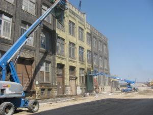 Masonry Restoration at Pabst Brewery – Boiler House